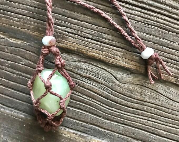 Jade Heart Chakra Energy Necklace