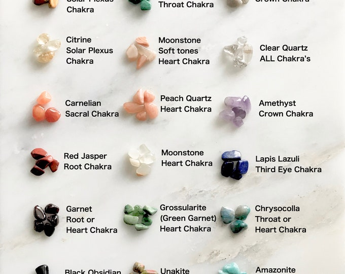 Tiny Crystals for Tiny Crystal Catcher Necklace