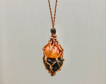 Black Tourmaline Energy Healing Necklace