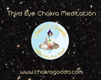 Third Eye Chakra Activation Meditation