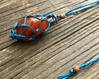 Carnelian Energy Healing Necklace