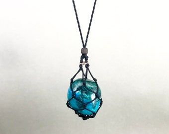 Chrysocolla Throat and Heart Chakra Energy Healing Necklace