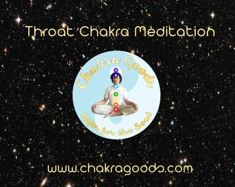 Throat Chakra Activation Meditation