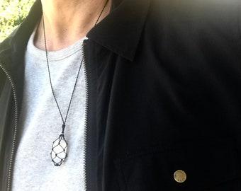SELENITE Crown Chakra Energy Healing Necklace