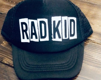 78ce422f Rad Kid Snapback, Mommas Boy Snapback, Kids Snapbacks, Grom Snapback,  Little Dude Hat, | Customized Kids Hats | Personalized Kids Hats | Gro