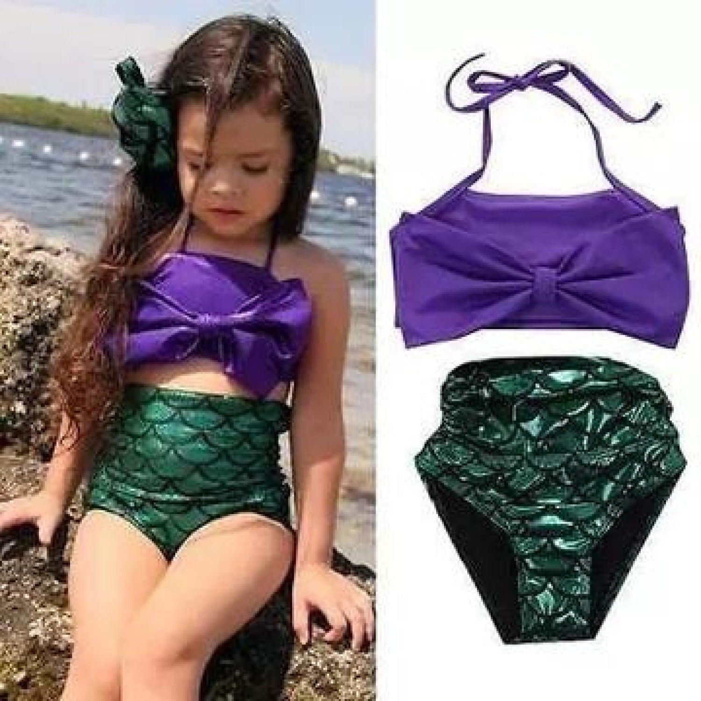 CUSTOM Child Mermaid Bathing Suit,Personalized Baby Bikini,Little Girl Bathing Suit,Personalized Bathing Suit,Mermaid,Custom Bathing Suit