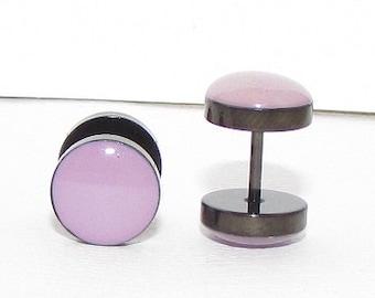 Light Purple Fake Plugs