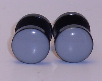 Flat Gray Fake Plugs