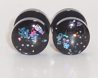 Galaxy Surprise Glitter Fake Plugs