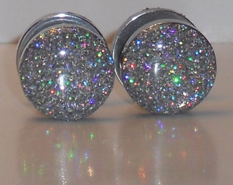 Rainbow Silver Fake Plugs