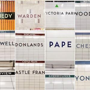 London street photography print geometric urban city silhouette underground tube metro subway black and white  station tunnel Embankment