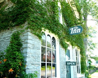 Canada Photography - The Inn - Glenora - Architecture Wall Decor - Canadian Fine Art Print