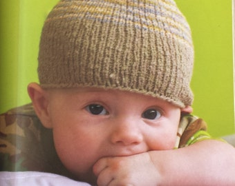 Soft + Simple knits for little ones-Heidi Boyd, soft cover book, childrens knitted clothing, knit toys, kids knit sweater, knitting pattern