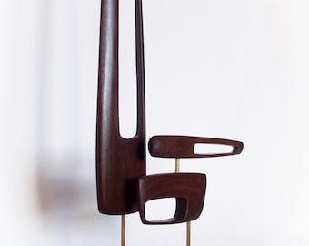 Mid Century Modern Art Sculpture Eames Era Tiki 60's Retro Danish Modern Sputnik Cool