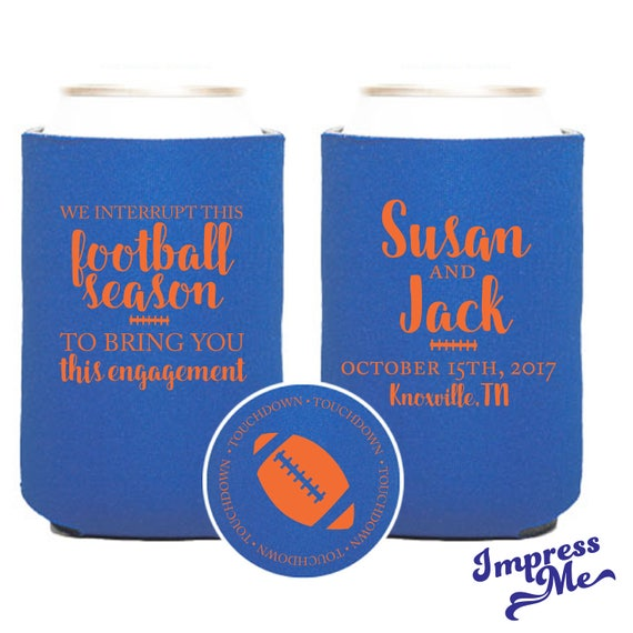 Engagement Party Football Wedding Favors Funny Wedding Favors We