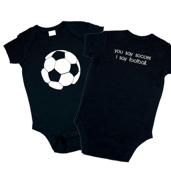 424b43c4b Items similar to Soccer Ball You say soccer. I say football. Baby Shower  Gift   Birthday Present for kids. on Etsy