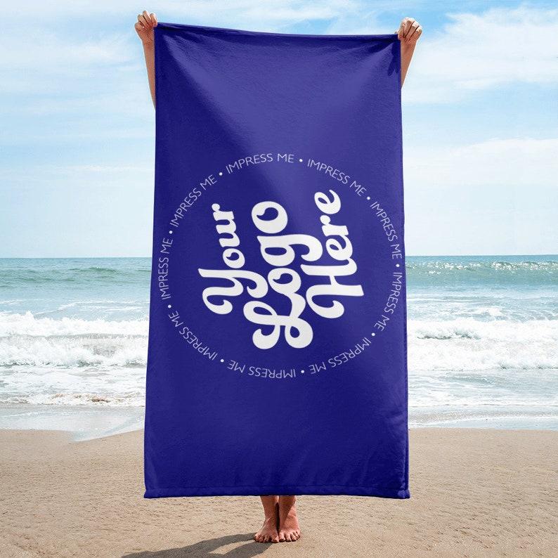 08740461034 Beach Towels Personalized Custom Beach Towel Bridesmaid image 0 ...