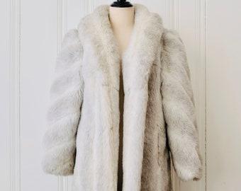 Faux Fur Coat Etsy
