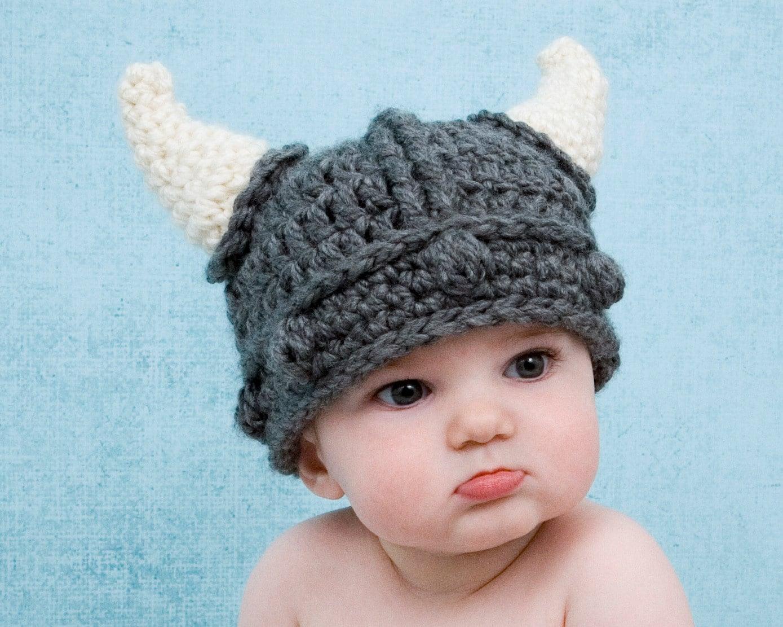 Viking Hat Beard, Crochet Pattern, Baby, Adult, Child, Knight, Dwarf ...