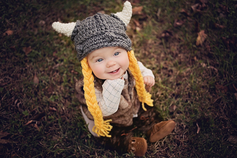 Viking Hat Crochet Pattern, Baby, Adult, Child, Knight, Dwarf, Lord ...