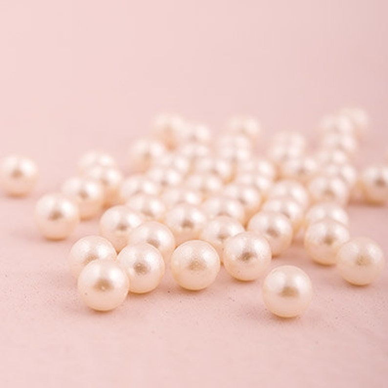 BULK PEARLS 450 pieces white or ivory