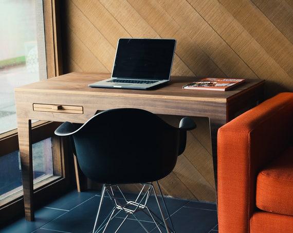 Minimalist Wood Desk | Desk | Wood Desk | Walnut Desk | Modern Desk | Modern Wood Desk