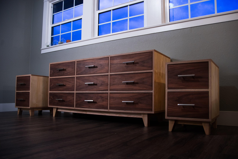 Dresser W Matching Nightstands Mid Century Modern