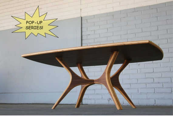 Pop-Up Coffee Table | Mid Century Modern Coffee Table | Coffee Table | Modern Coffee Table