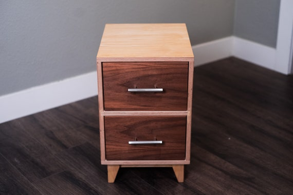 Mid Century Modern Nightstand | Nightstand | End Table | Side Table