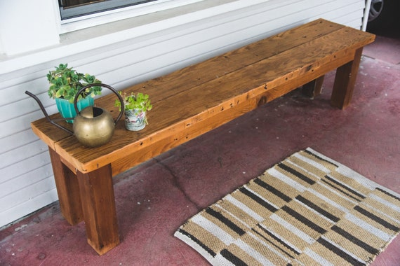 Rustic Dining Table Bench | Farmhouse Bench | Dining Table Bench