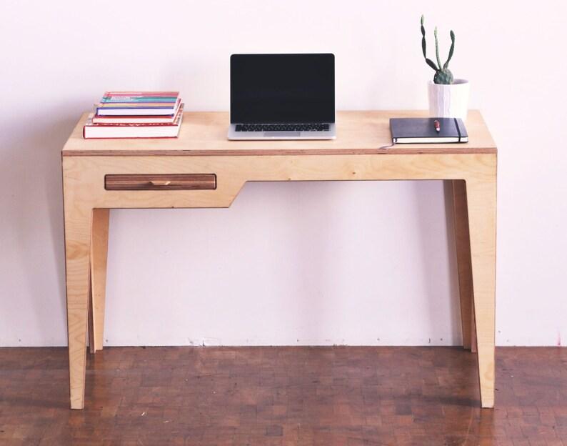 Delicieux Desk/ Minimalist Desk/Wood Desk