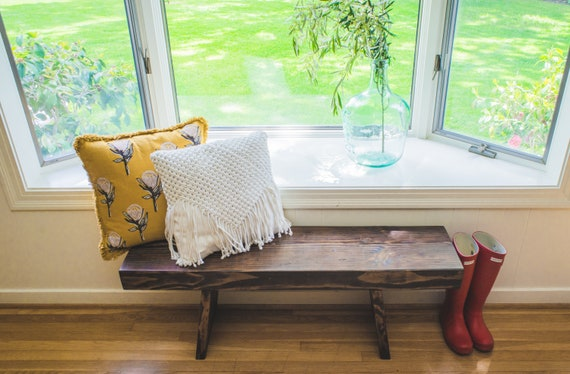 Rustic Farmhouse Bench | Bench | Farmhouse Bench | Rustic Bench