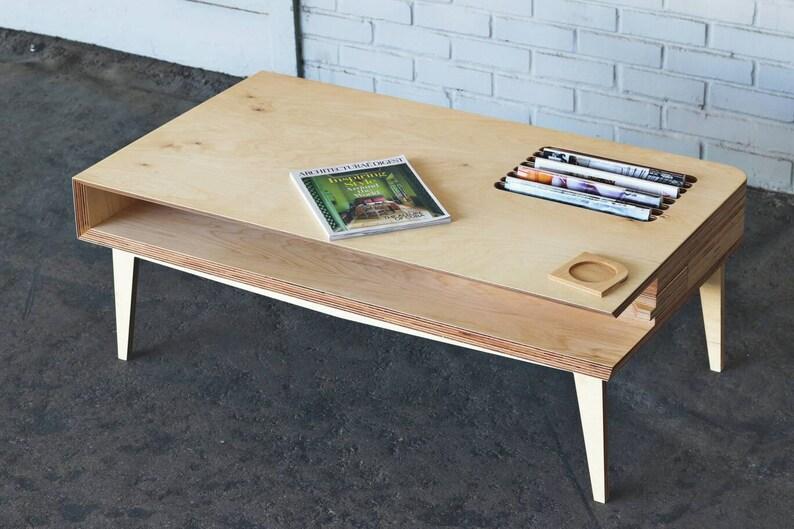 Mid Century Modern Magazine Coffee Table Mid Century Modern Etsy