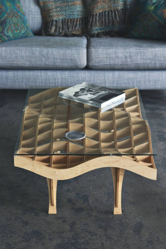 Undulating Table | Coffee Table | Modern Coffee Table | Mid Century Modern Coffee Table