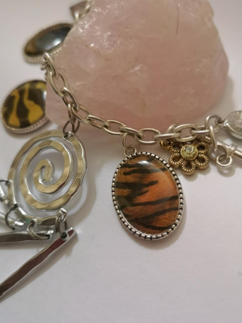 Access the Spiritual Realm. Hoodoo Spiral Bracelet Entice Movement of Energy