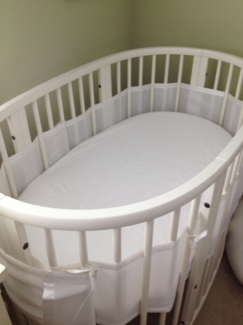 58X73 MINI 60X122 SLEEPI 165X67 JR FITTED SHEET for  OVAL STOKKE bed