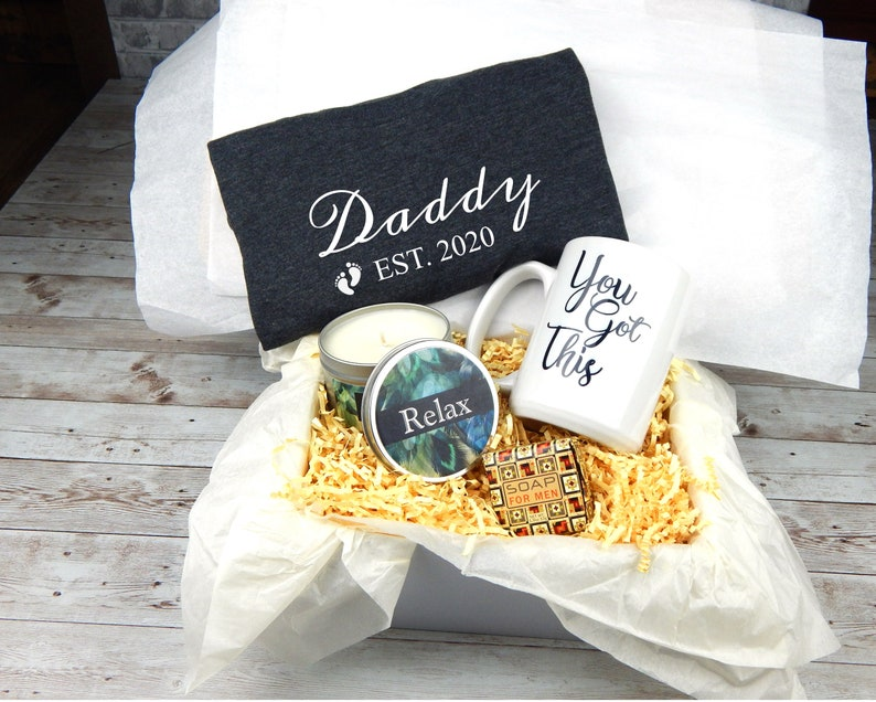 New Dad Gift Basket Gift For New Dad Gift Box For New Dad ...