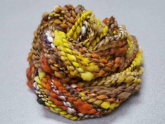 Handspun Art Yarn - Bulky