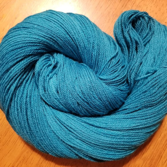 Indie Dyed 100% Peruvian Highland Wool/SW - Fingering weight yarn 100g,  402yds 4 Colorways Available