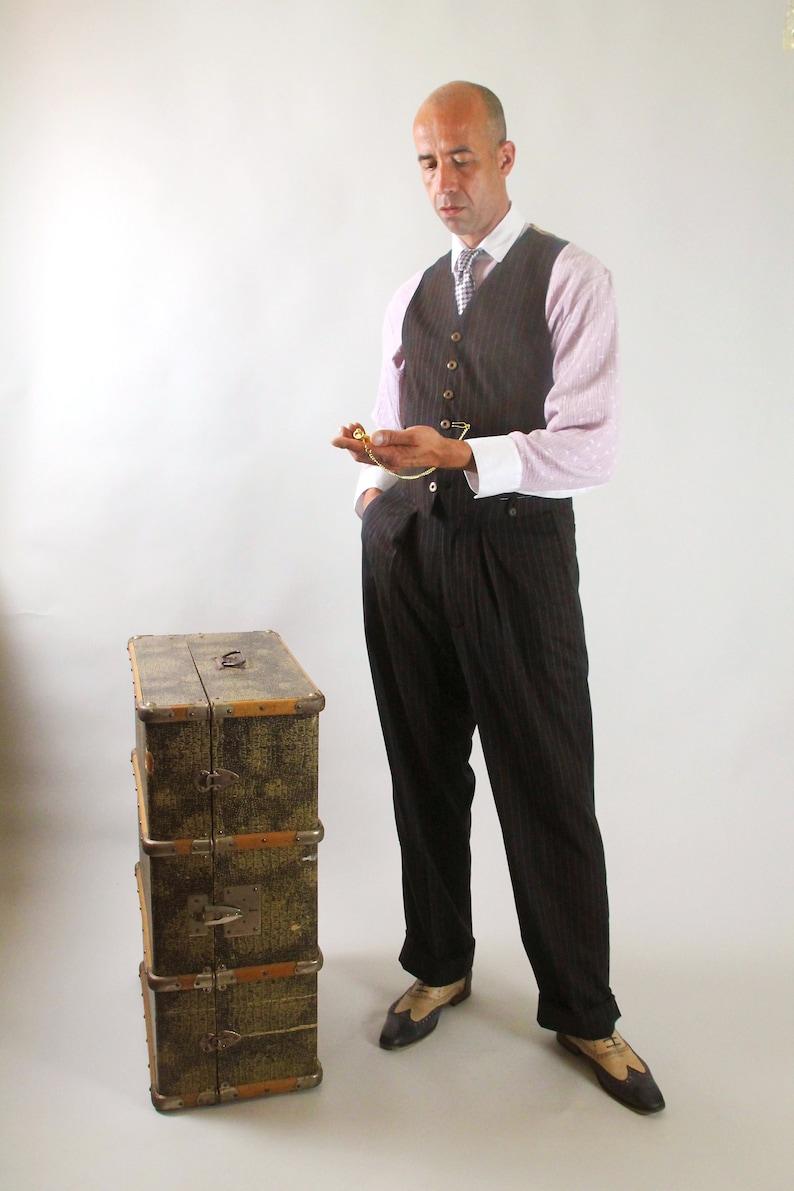 1920s Men's Outfit Inspiration – Costume Ideas Roaring Twenties SunnySideCouture  AT vintagedancer.com