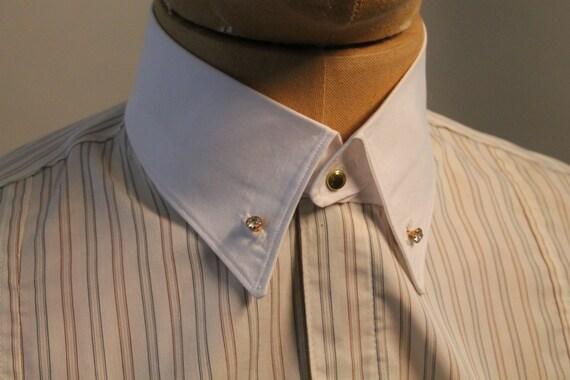 adce5a5cf30 Men s detachable collar white cotton collar with