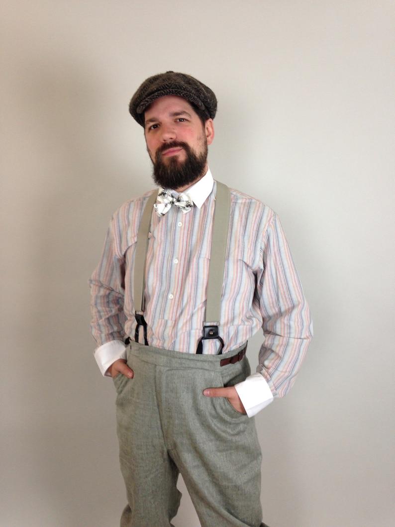 519ca8cb3a7 1920 s mens shirt peaky style mens shirt striped