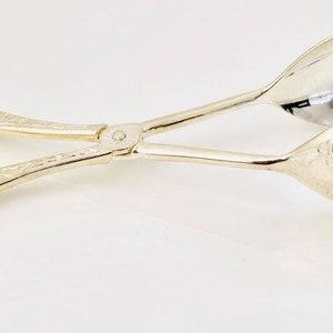 Eales 1779 silver plated salad scissors No 102L