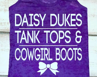 Country Tank Top. Daisy Dukes and Tank Tops, and Cowgirl Boots. Country Loving. Southern Girl Tanks.Country Music Concert. Country Tanks