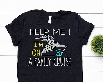 ea70384f49f32 Ah Ship It's A Family Trip Cruise Shirts Family Cruise | Etsy