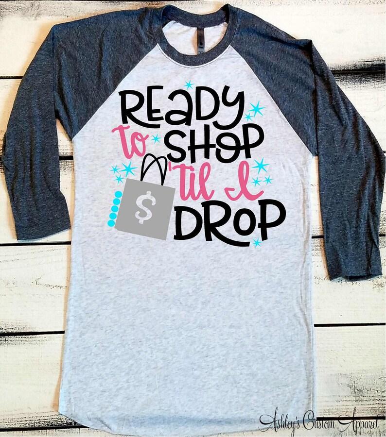 45dee847 Black Friday Shirt Black Friday Shopping Shirts Shop Til You   Etsy