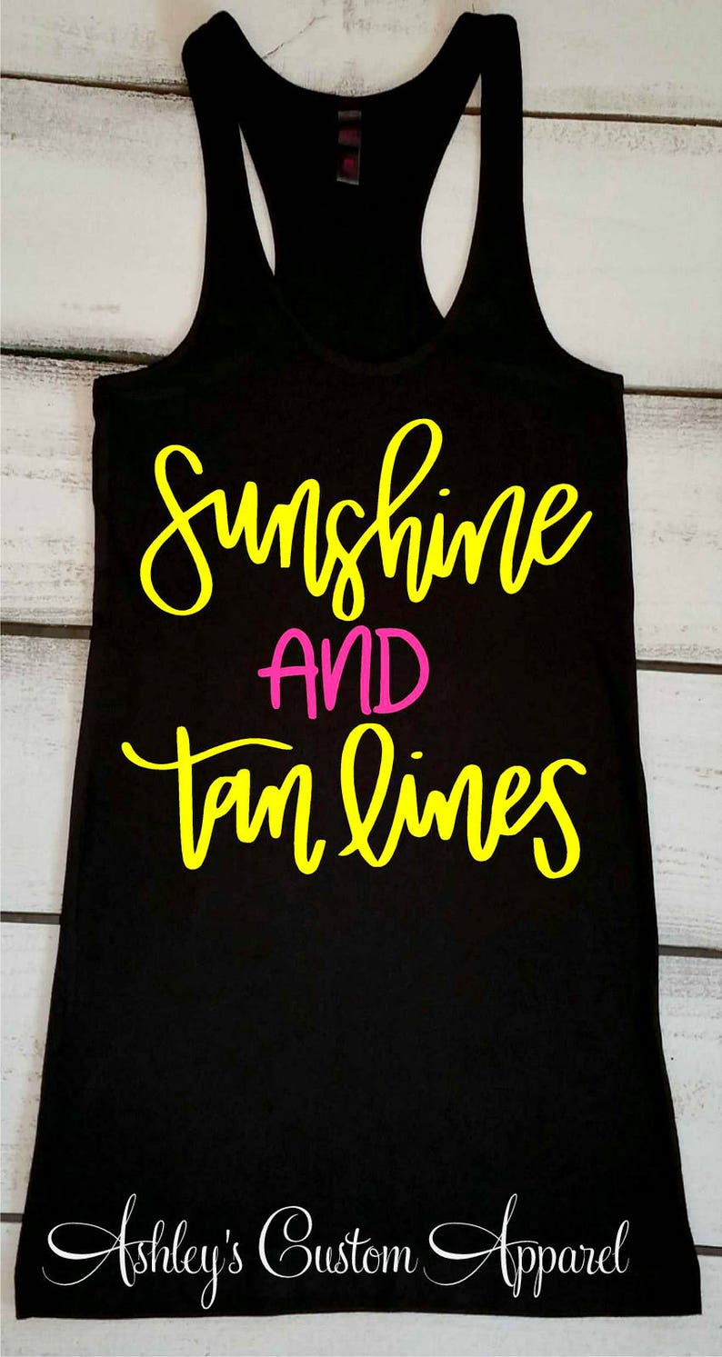 84c87b5c840a51 Sunshine and Tan Lines Summer Tank Tops Bella Flowy Muscle