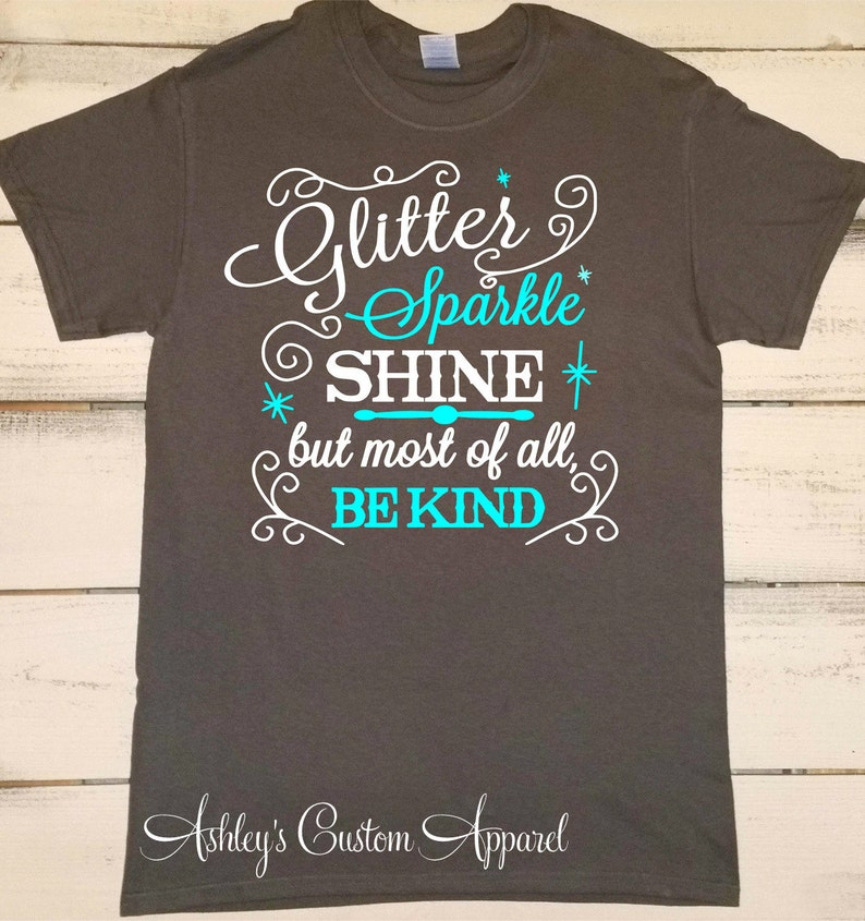 Cute Girly Southern Shirt Glitter Sparkle And Shine But Etsy