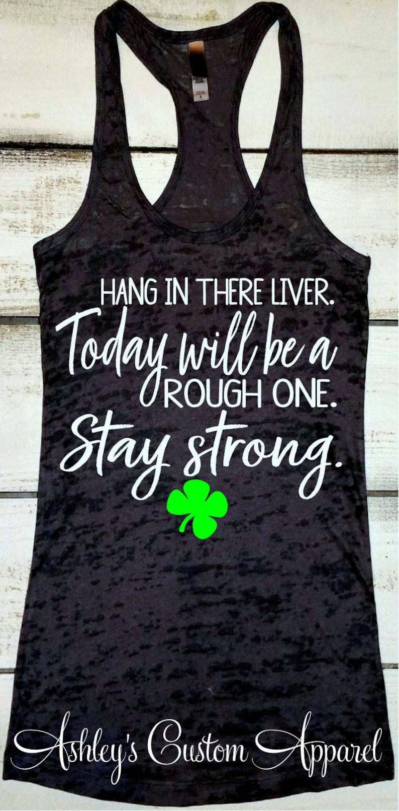 5f0963b4b Funny St. Patrick's Day Shirt For Women Liver Shirt | Etsy