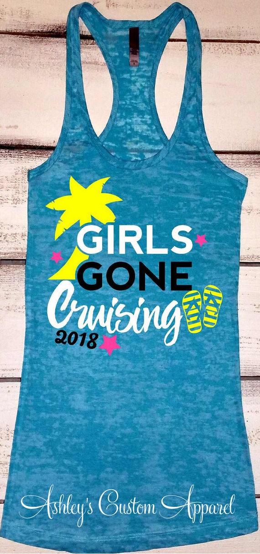 Cruise Shirts Girls Trip Shirts Girls Gone Cruising Girls
